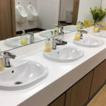 Stevens Washrooms - Commercial Washroom Installations - Sanitary Ware and Plumbing Sensor Operated Systems