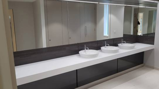 Stevens Washrooms Adding KRION To Its Solid Surface Range