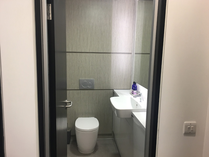 Bespoke office washrooms from Stevens Washrooms