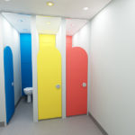 Stevens Washrooms - Commercial Washrooms Cubicles Urinals Installation Refurbishment - School and Nursery Cubicles
