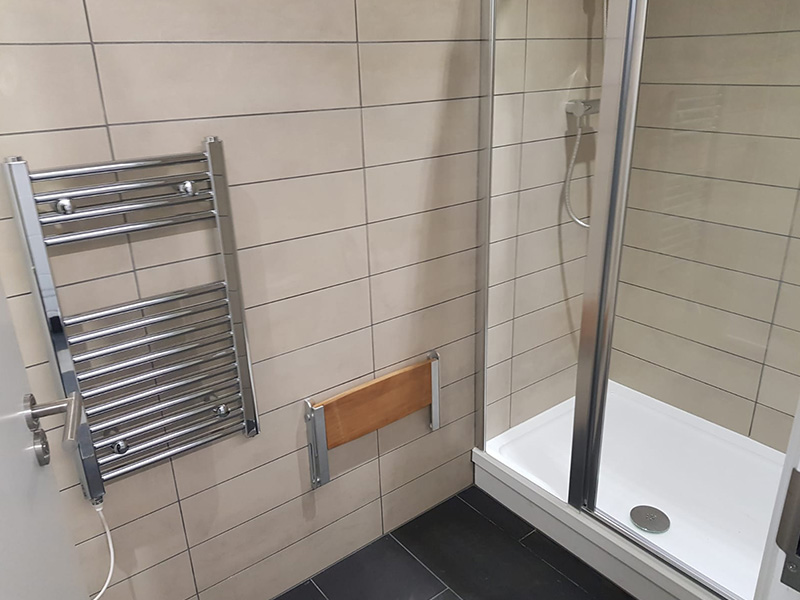 Bespoke sports and leisure washrooms from Stevens Washrooms
