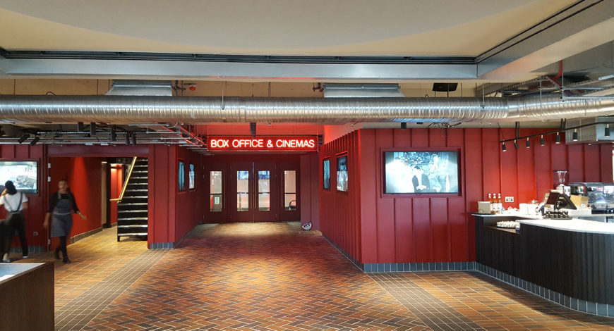 Stevens Washrooms - News Articles - British Film Institute Work Complete in November 2018 1