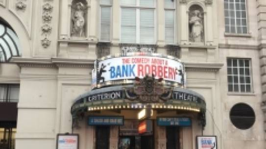 Criterion Theatre London April 2019.